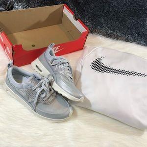 Nike silver Air Max Thea sneakers